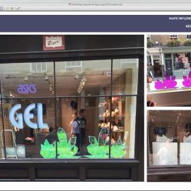 ASICS Window foil