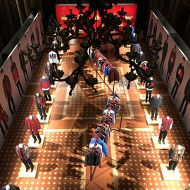 Printing/Installation for Tommy Hilfiger Pitti Uomo Florence